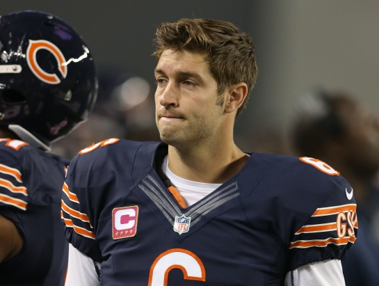 Jay Cutler is playing for his future this Sunday.