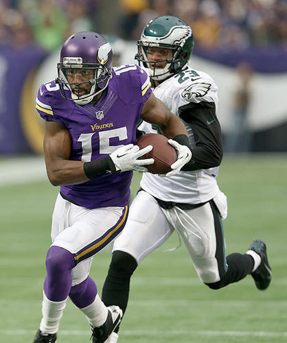 Greg Jennings and the Vikings stunned the Eagles.