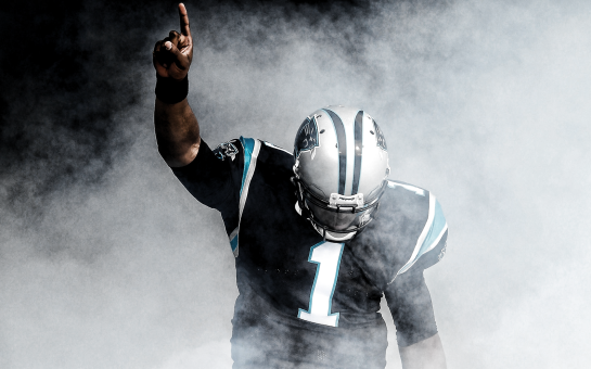 Cam Newton is going into his first NFL playoff game.