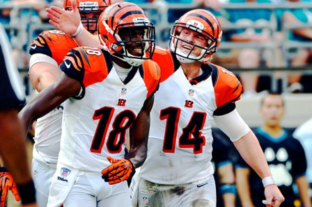 Andy Dalton and A.J. Green have only known playoffs in their 3 seasons in The Queen City. Today should show the growth of the team with a win.