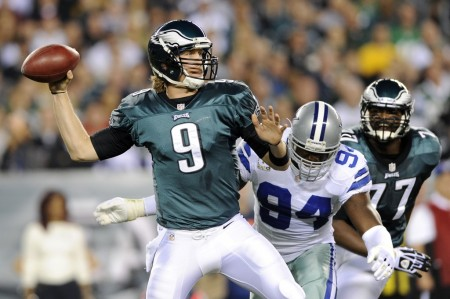 Nick Foles can come of age with a win against the Saints.