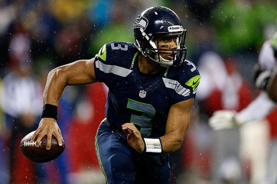 Russell Wilson is used to playing in the elements. Thanks to his college days in Wisconsin and Seattle as a pro.