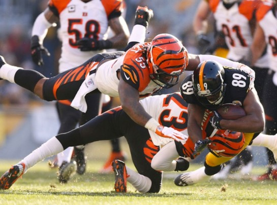 The National Football League's #3 defensefeatures Vontaze Burfict. Who is seriously considered  for TBT Defensive Player of the Year.