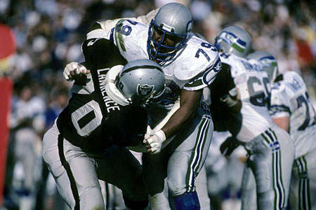 Another big time defender Seattle had was Jacob Green