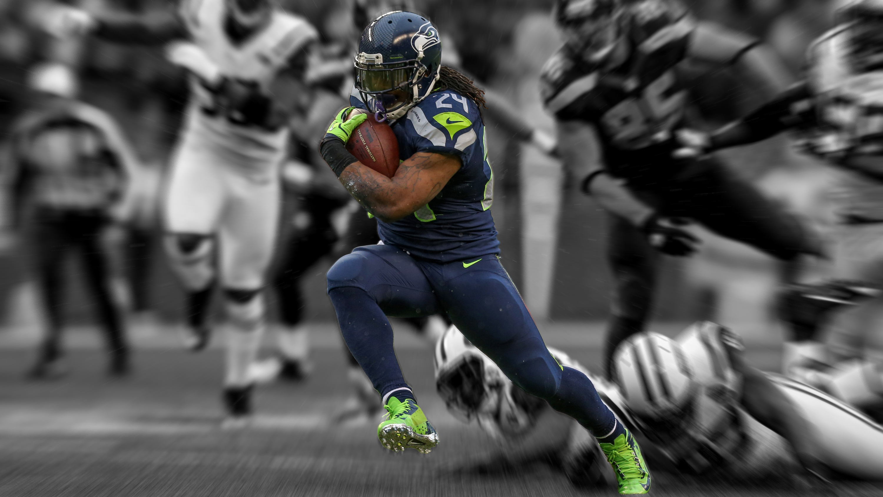 Seattle seahawks v denver broncos taylor blitz times marshawn lynch is the key to seattle winning this game voltagebd Images