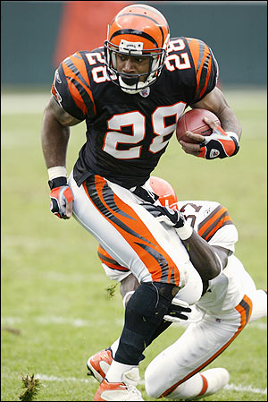 Corey Dillon Belongs In The Hall of Fame (1/3)