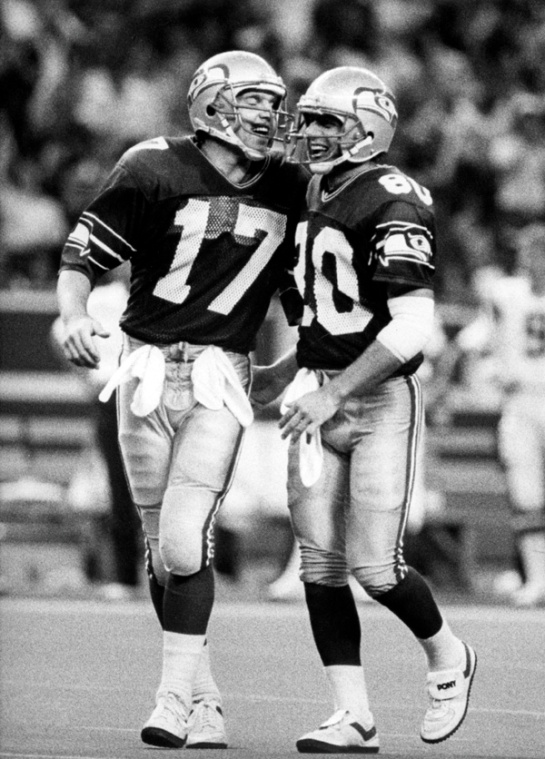 To this day, the Dave Krieg to Steve Largent connection remains the best in team history.