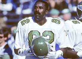 Greatest receiver in Eagles history...Mike Quick
