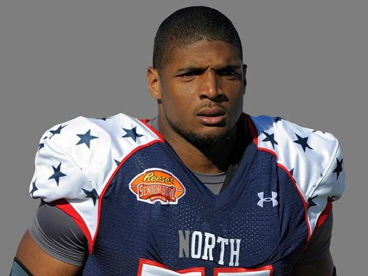 The SEC Co-Defensive Player of the Year, Michael Sam was drafted in the 7th round by the St Louis Rams.