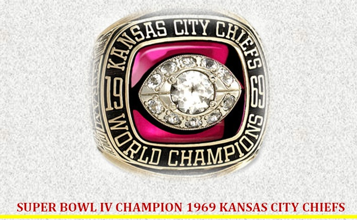 c00d0f6dc72 SUPER BOWL IV CHAMPION 1969 KANSAS CITY CHIEFS