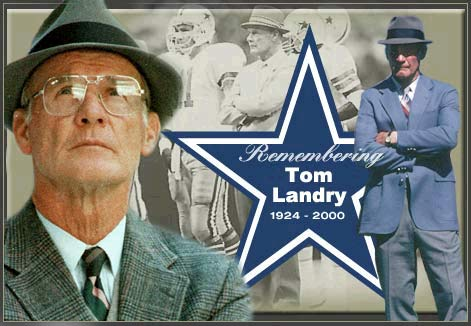 Who knew this would be Tom Landry 's last Super Bowl team.