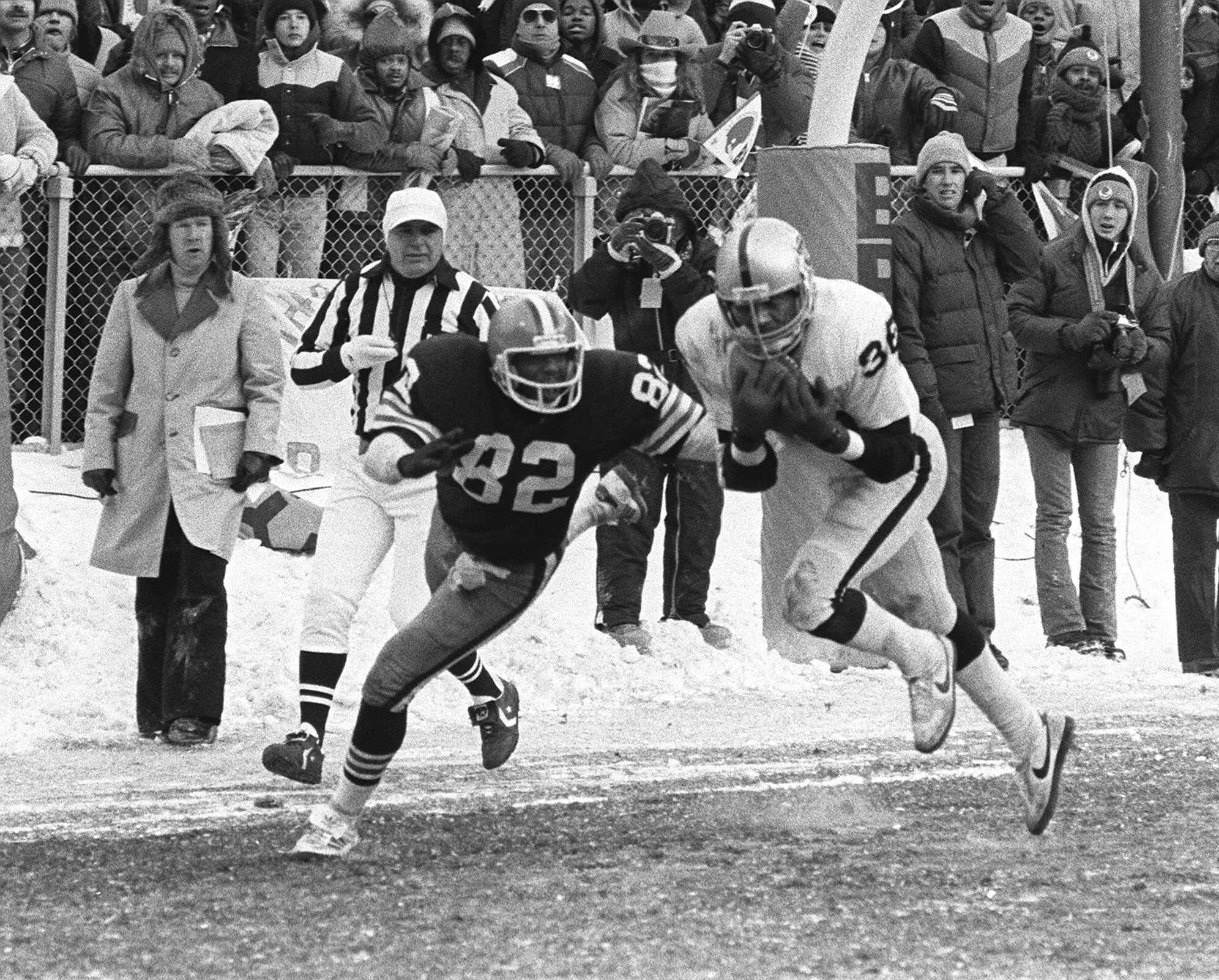 Mike Davis clutch interception in the 1980 AFC Playoffs saved the Raiders season.