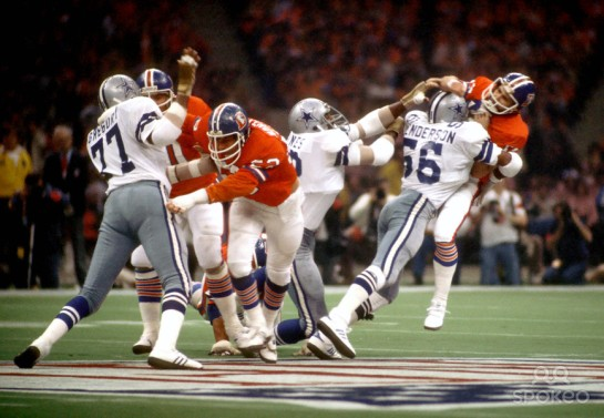 After Craig Morton was benched, Hollywood Henderson and Doomsday treated Norris Weese to a rough outing. Super Bowl XII