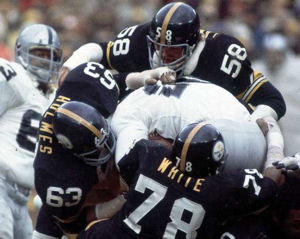 No one could run on the '76 Steelers