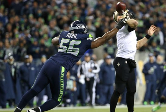 Cliff Avril still brings pressure from the edge.