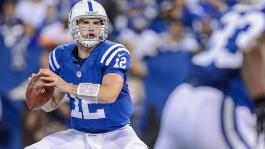 The player that is growing on The Chancellor the most is Andrew Luck.