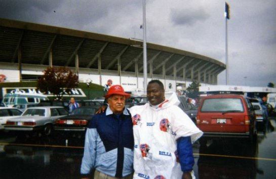 The Chancellor of Football's pilgrimage to Buffalo. Bills v Cowboys 9 22 1996