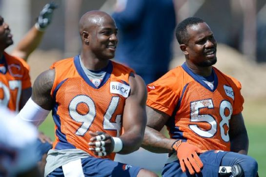 Ware will make Von Miller a better player as well.
