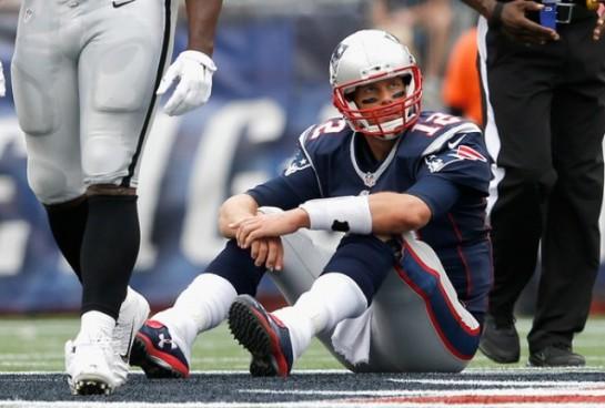 Tom Brady's frustrating 2014 start.