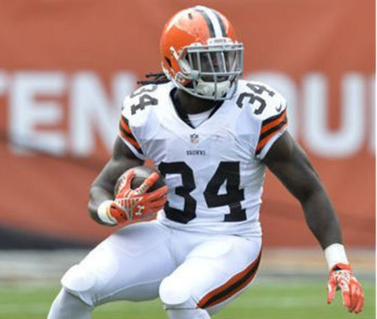 Isiah Crowell and the Browns have run by committee this season.