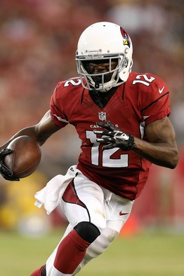 John Brown is the Cardinal's version of the Steelers Antonio Brown. Diminutive and can flat out fly.