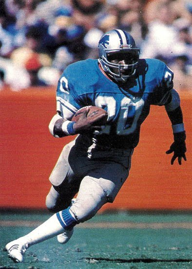 The 1978 Heisman Trophy winner was the Lions 1980 #1 draft pick. Billy Sims