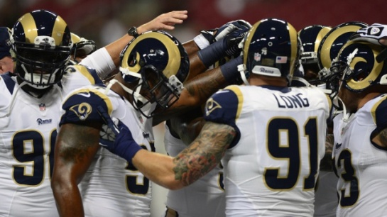 Robert Quinn and Chris Long are leading the pass rush as they had last season.