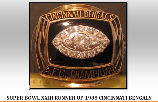 Super Bowl Xxiii Runner Up 1988 Cincinnati Bengals