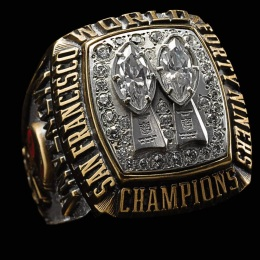 SUPER BOWL XIX CHAMPIONS 1984 SAN FRANCISCO 49ERS
