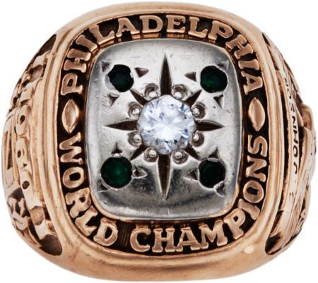 The 1960 NFL Championship Ring.