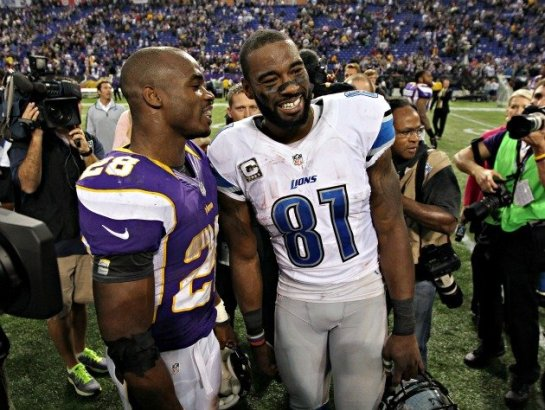 You know they have talked at the Pro Bowl what it would be like to play together.