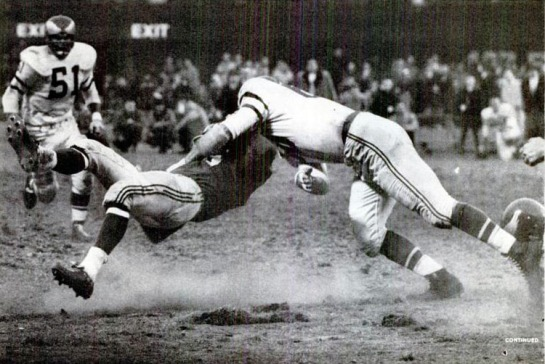 Bednarik's hit on Gifford was one of the greatest in NFL history.