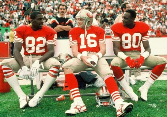 Joe Montana, Jerry Rice, and John Taylor had taken the West Coast Offense to a record level.