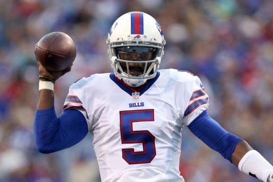 Taylor is prepared to lead the Bills into the playoffs.