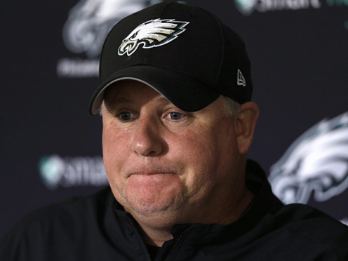 Chip Kelly is even losing the battle for race relations.