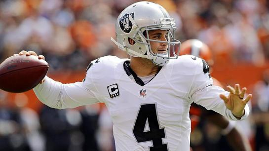 Carr looks like the real deal out in Oakland.