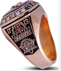 SUPER BOWL XXIX RUNNER UP 1994 SAN DIEGO CHARGERS (2/3)