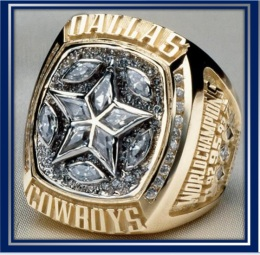 SUPER BOWL XXX CHAMPION 1995 DALLAS COWBOYS