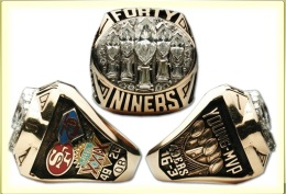 SUPER BOWL XXIX CHAMPION 1994 SAN FRANCISCO 49ERS