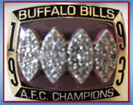 SUPER BOWL XXVIII RUNNER UP 1993 BUFFALO BILLS