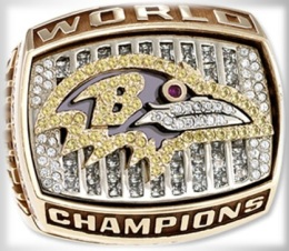 SUPER BOWL XXXV CHAMPION 2000 BALTIMORE RAVENS