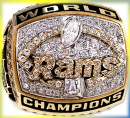 SUPER BOWL XXXIV CHAMPION 1999 ST LOUIS RAMS: One of the greatest of NFL champions
