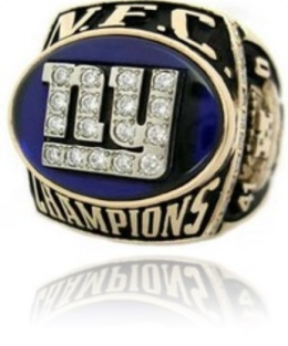 SUPER BOWL XXXV RUNNER UP 2000 NEW YORK GIANTS