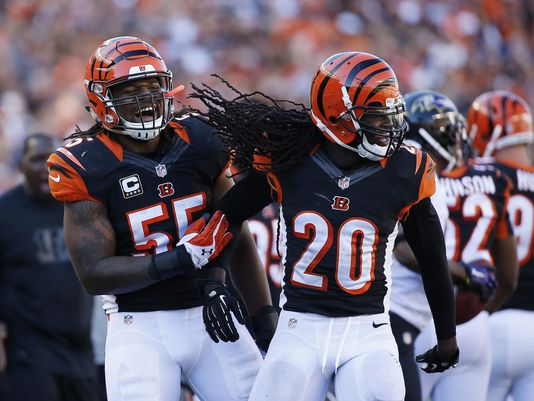 Burfict returns however S Reggie Nelson has moved on.