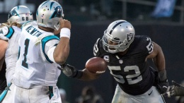 The 2016 Taylor Blitz Times Defensive Player of the Year: Khalil Mack