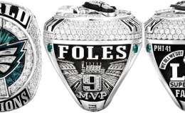 Philadelphia Receives Super Bowl LII Championship Ring