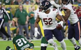 The 2018 Taylor Blitz Times Defensive Player of the Year – Khalil Mack