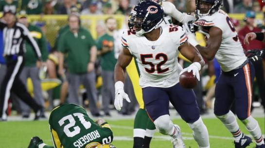 49586420909 Mack made his presence felt the second he put on a Bears uniform.