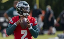 Whither Carson Wentz: Jalen Hurts Peers Over His Shoulder
