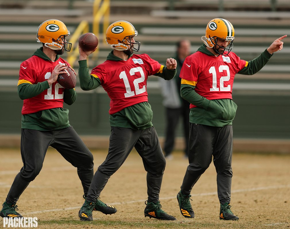 Will Rodgers don a Packers practice jersey again?